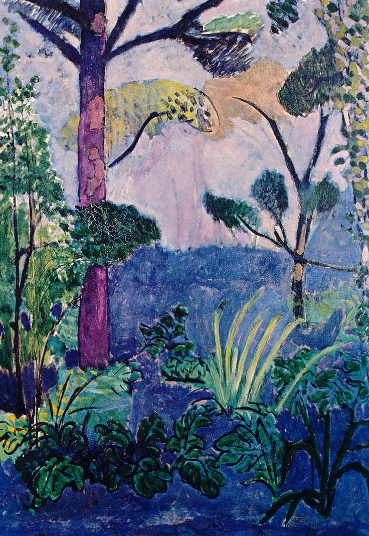My new office inspiration, Matisse's moroccan landscape. The colors were SO AMAZING in person, I wanted to eat the painting.
