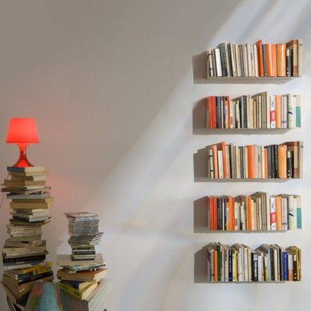 Awesome Metal Bookshelves, Italian Design From Teebook.