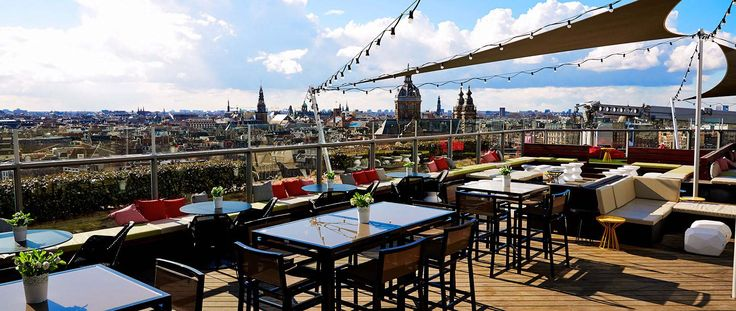 Centrum: SkyLounge- the best rooftop views of Amsterdam!