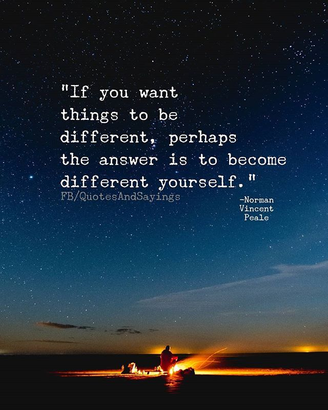 """If Things Were Different Quotes: """"If You Want Things To Be Different Perhaps The Answer Is"""