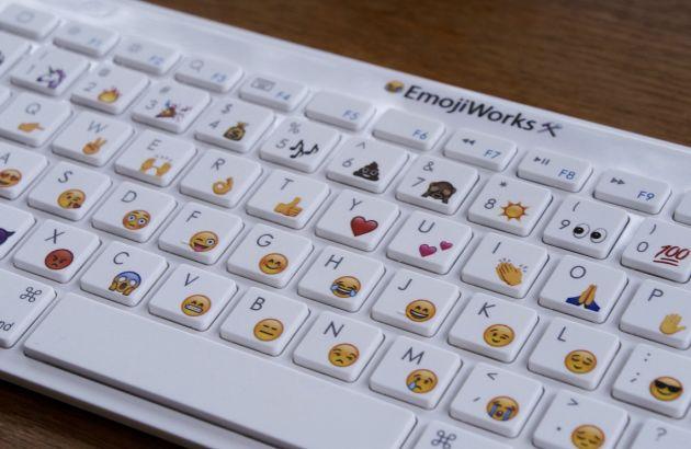 Un clavier 100% emojis