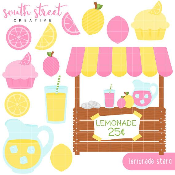 lemonade stand pink lemonade lemons summer by lemonade clip art art lemonade clipart black and white