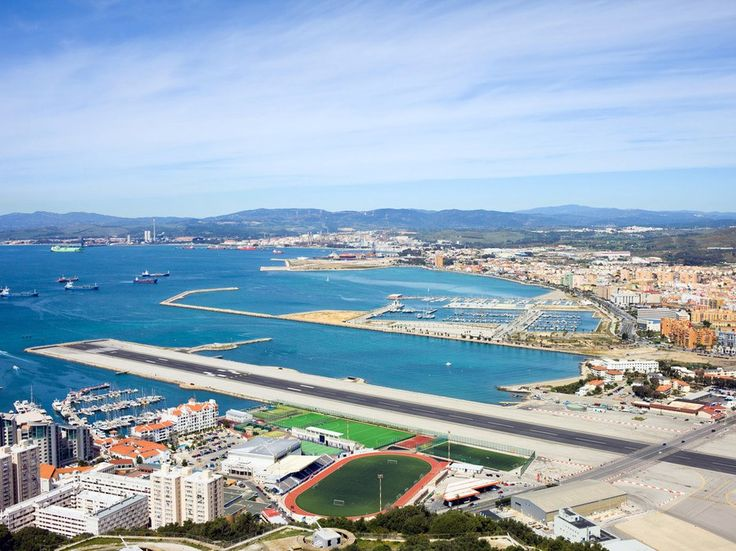 Gibraltar's airport is the only one in the world that has a road running through the middle of it. Yes, traffic on Winston Churchill Avenue pauses when a plane takes off or lands. (Let's make no mention of the runway jutting out into the harbor.)