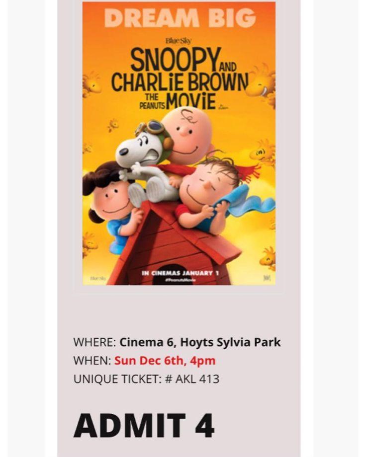 이벤트 당첨 스누피 영화 보러왔지롱 Won 4 tickets this time for The Peanuts Movie!  _  #thepeanutsmovie#peanuts#charliebrown#snoopy#animation#더피너츠무비#피너츠#스누피#찰리브라운#스티브마티노#stevemartino#billmelendez#빌멜렌데즈#instamovie#instafilm#movie#film#영화#영화스타그램#데일리#무비#무비스타그램#cinephile#소통#フォロー#映画#ピーナッツ#スヌーピー