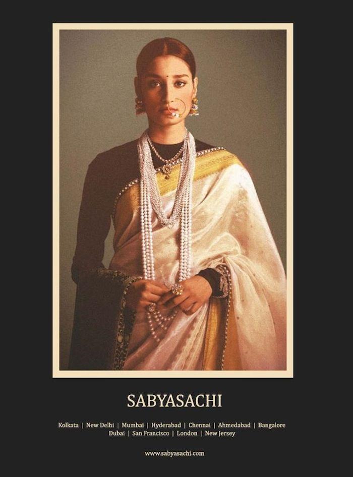 Regal Bride Via Sabyasachi Saree Blouse Designs