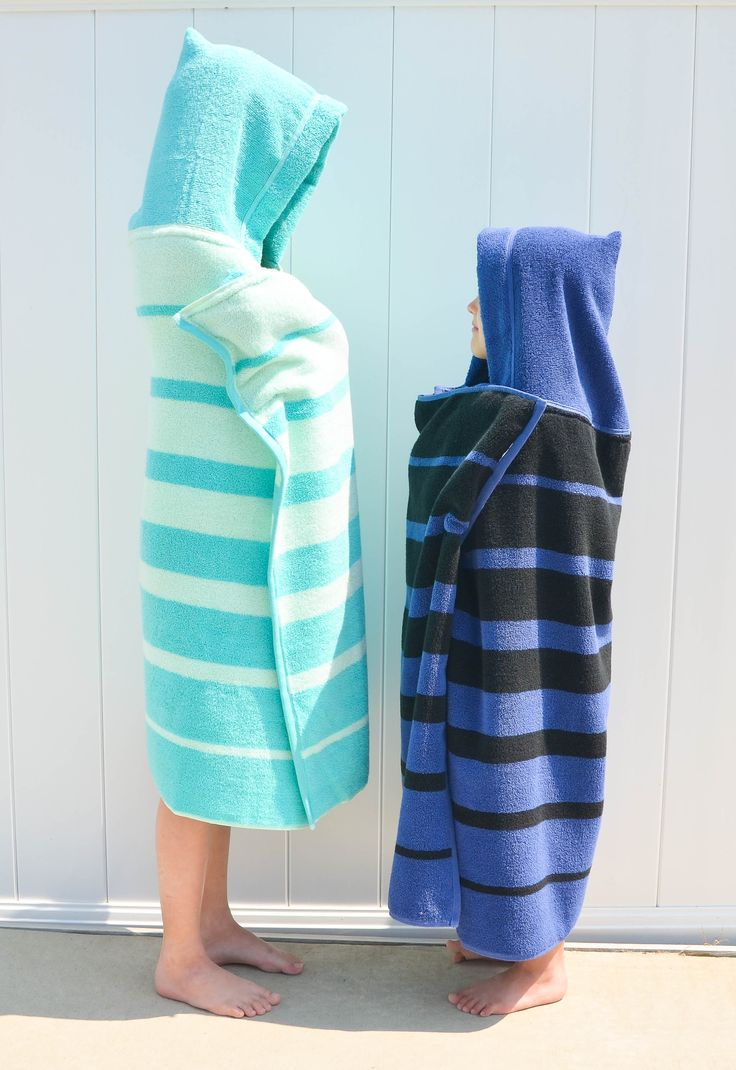 DIY Hooded Towel Tutorial for Toddlers and Big Kids - Project Nursery