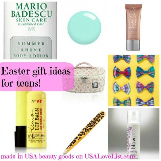 71 best gift ideas for teens images on pinterest good ideas gift 8 easter gift ideas for teen girls or spring splurges for you american beauty negle Gallery