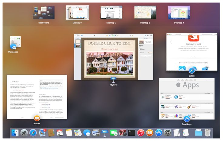 OSX - Yosemite - Human Interface Guideline