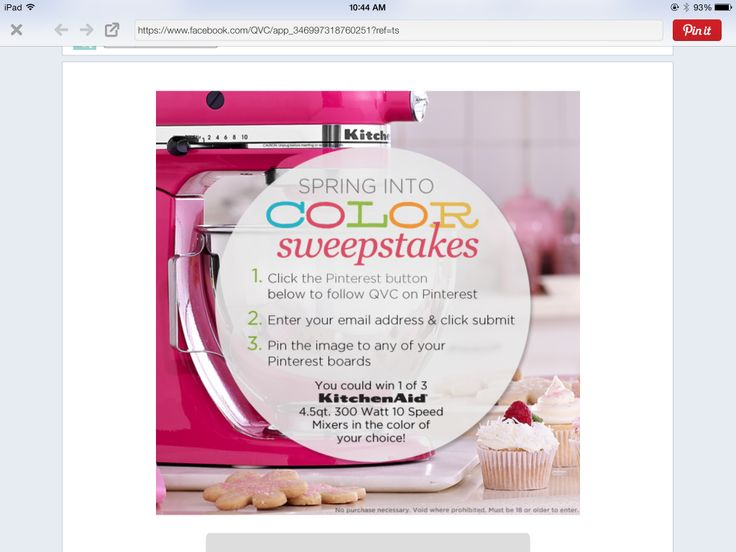 Hope I win! @QVC #qvc #kitchenaid