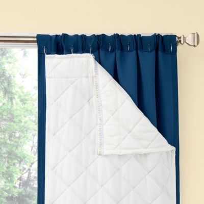 Season smart window curtain room darkening noise reducing for Best windows for cold climates