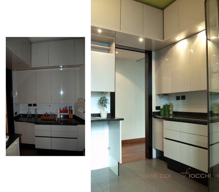 cucina_prima e dopo :: casecoifiocchi