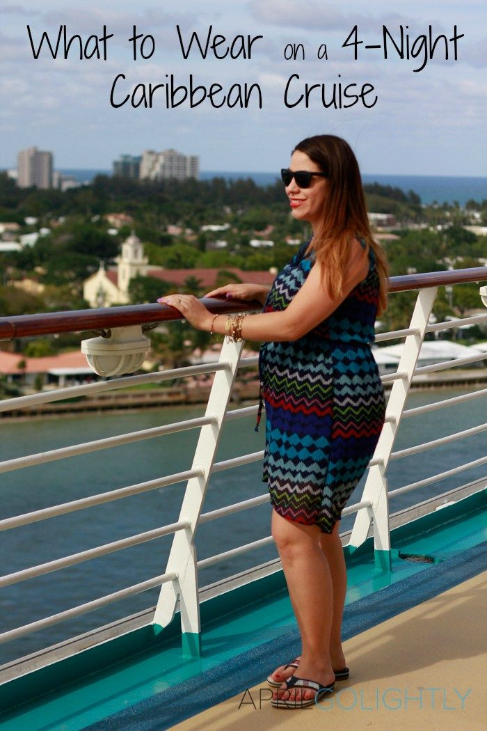 What to pack on a 4 night caribbean cruise