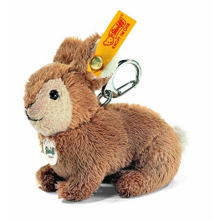 Cute little rabbit keyring from Steiff.