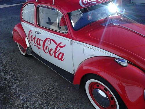 Find new 1969 VW BUG COCA COLA RED FAST REALIABLE AND DAILY DRIVER ...