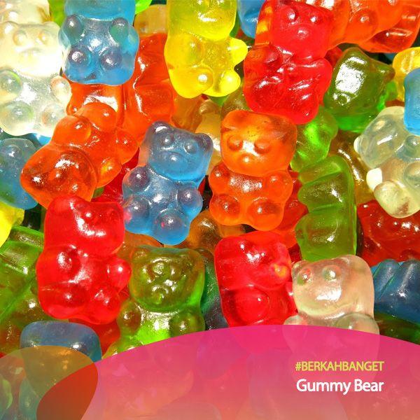 Topping Gummy Bear. #BerkahBanget