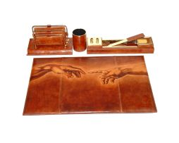 Leonardo da vinci, leathergoods, pelleterie, koza, kozeny vyrobok, rucna malba, hand painted, www.luxusne-doplnky.eu