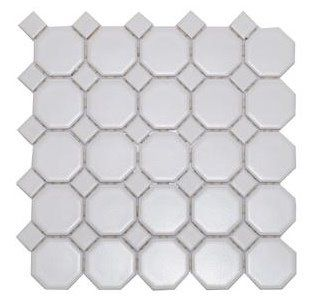 Octagon Floor Tile tile flooring White Octagon Floor Tilecustomizing With Random Deep Sea Blue Glass Dots Throughout Kids Bathroom Remodel Pinterest Choice Home Renovation