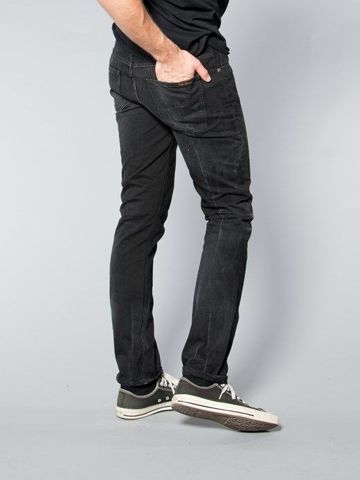 For those who have a little bit or rocker in them :) Grim Tim Organic Black Grease - Nudie Jeans Co Online Shop