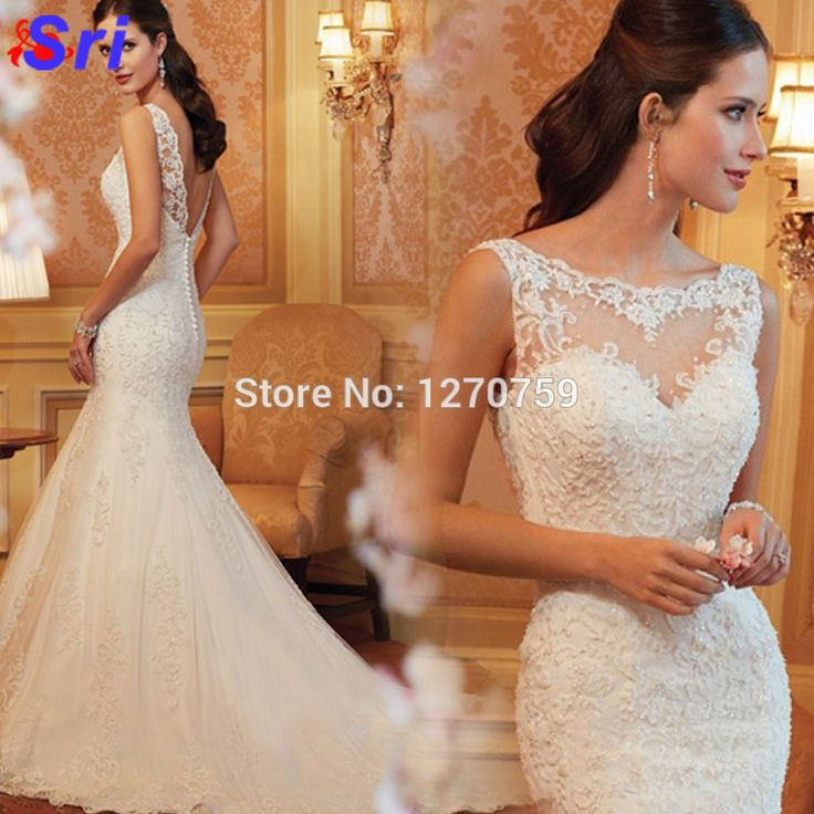 Find More Dresses Information about 2015 Galia Lahav Wedding Dresses Mermaid O Neck Vestido Noiva Plus Size Lace Backless Wedding Dresses Cheap Wedding Dress,High Quality dress gypsy,China dress diamante Suppliers, Cheap dress up time prom dresses from Sritrade International Co., Ltd on Aliexpress.com