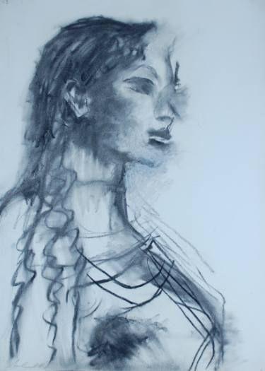 "Saatchi Art Artist melora walters; Drawing, ""Kore"" #art"
