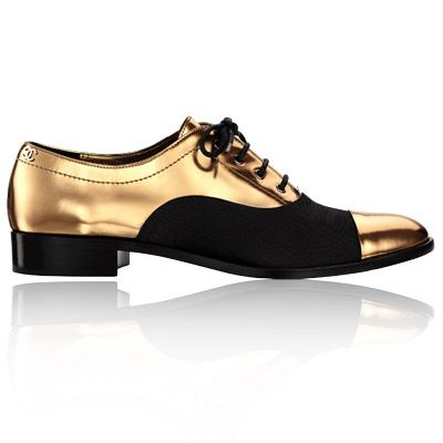 Chanel by Karl Lagerfeld menswear - Paris Bombay - flats $1,050 at select Chanel stores #shoes #fashion