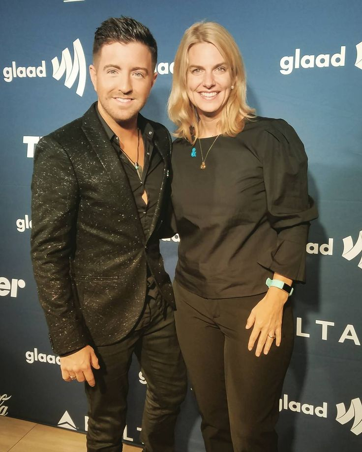 "932 Likes, 12 Comments - Billy Gilman (@billygilmanofficial) on Instagram: ""So great hanging with Sarah the CEO of @glaad. She is one remarkable woman! #glaadgala"""