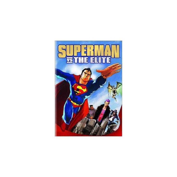 Superman vs. The Elite (Includes Digital Copy) (dvd_video)