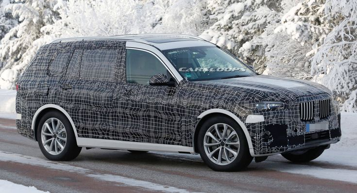 2019 BMW X7 Striptease Continues, Merc's GLS Might Need To Worry #news #BMW