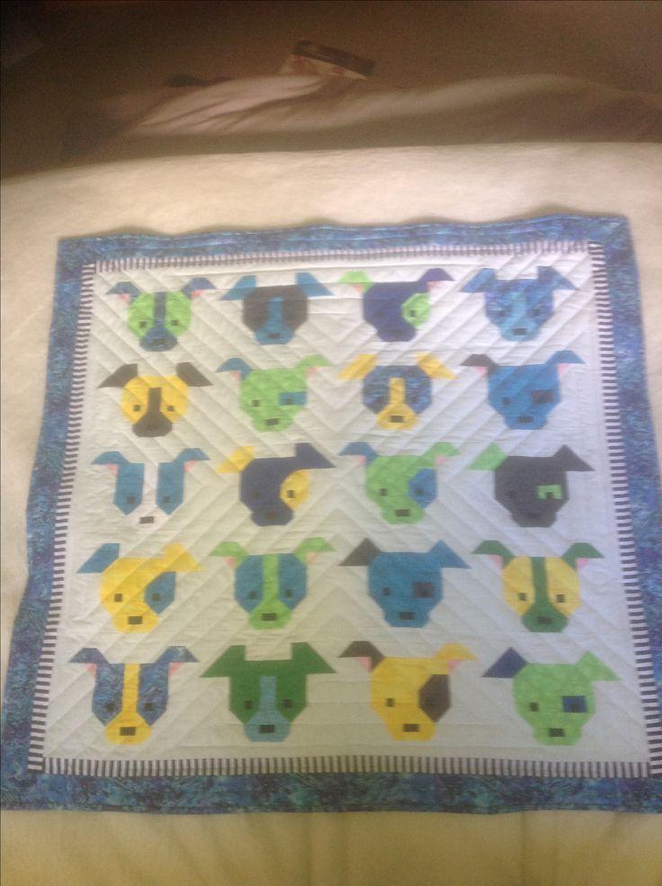 Sew Fresh Dog Gone quilt for Jai