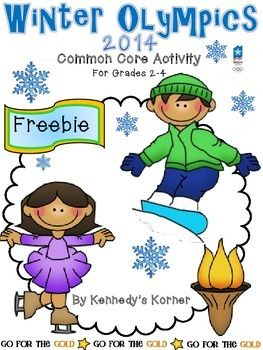 Olympics Close Read Aligned to the Common Core ~ FREE