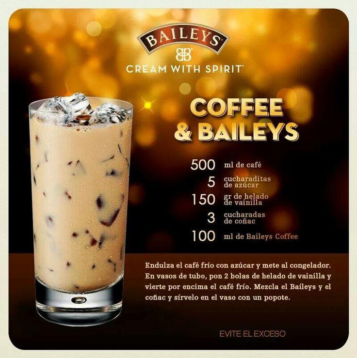 Coffee and Baileys Más información en ▶️ http://prixline.wordpress.com/contacto  o por WhatsApp +34 668 802 743 #prixline #Curso #Aprender #Hosteleria