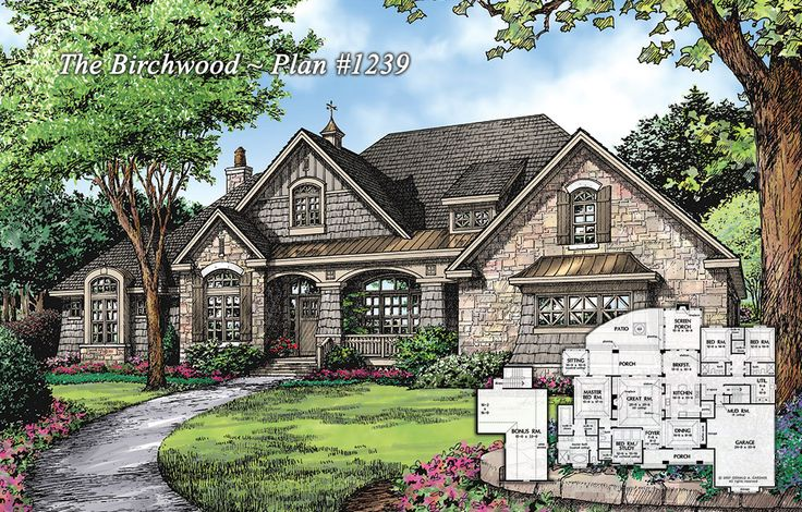 Plan Of The Week The Birchwood 1239 Http Www