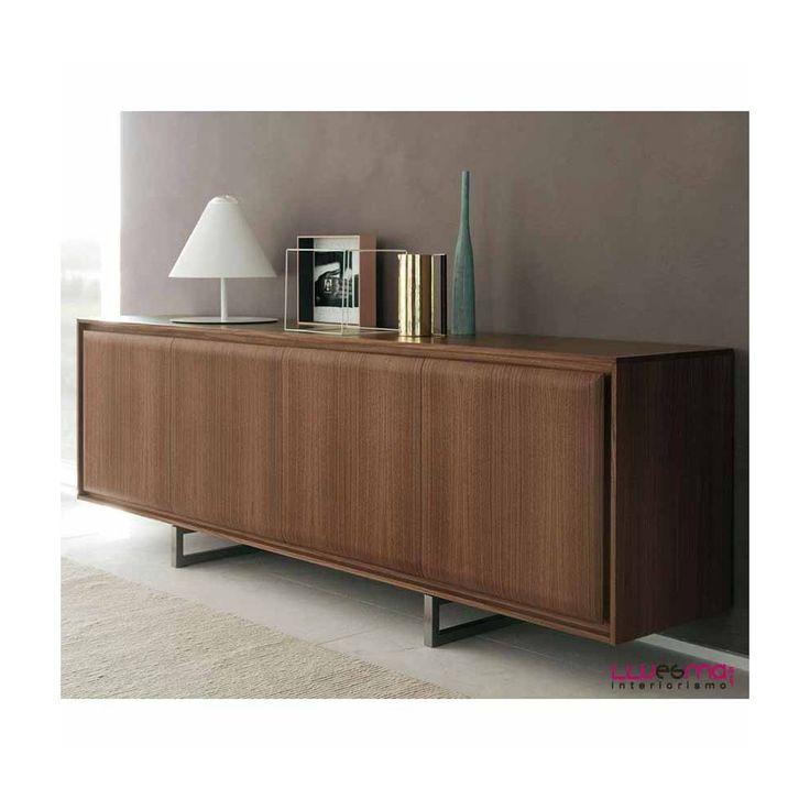 Aparador Hamilton de Porada. Muebles de diseño italianos. Aparadores