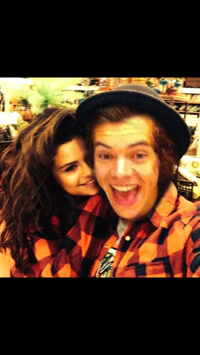 Harry Styles and Selena Gomez THIS IS NOT PHOTO SHOP I freaking out Right NOW
