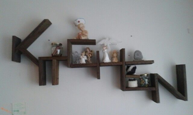 """Kitchen"" shelf."