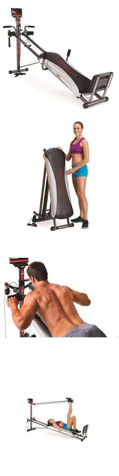 Other Strength Training 28067: Total Gym 1400 Deluxe Home Fitness Exercise Machine Equipment Workout Dvd Muscle -> BUY IT NOW ONLY: $338.77 on eBay!
