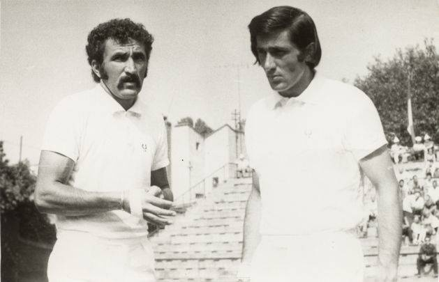 Remembering the 60's and 70's (Ion Tiriac and Ilie Nastase)