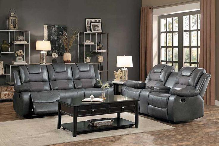 Best Homelegance Taye 2 Piece Double Reclining Sofa Set 400 x 300