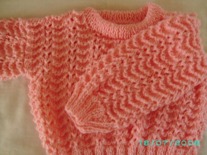 >Blusão de trico e cachecol tricolor   carlapacheco75                                                                                                                                                                                 Mais