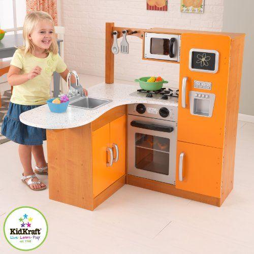 67 Best Images About Kids Play Kitchen On Pinterest Kidkraft Retro Kitchen Toys And Refrigerators