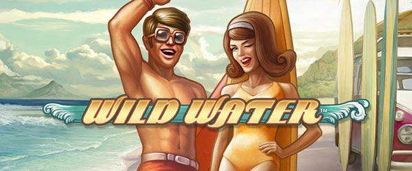 Sommar, sol och chansen att vinna 2 miljoner kronor i vår nya spelautomat Wild Water!