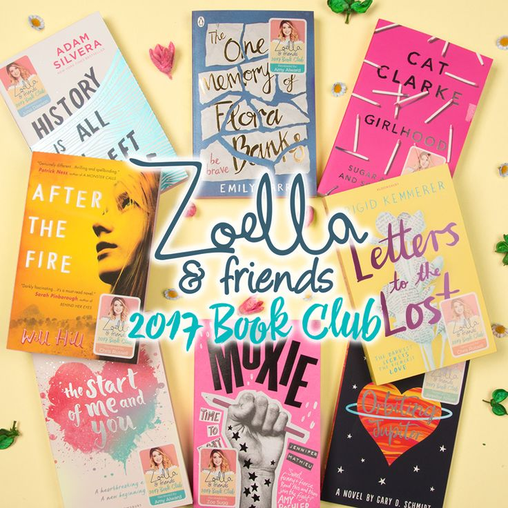 We're extremely excited to tell you that Zoella is bringing the Zoella Book Club back for 2017, and she's invited four of her author friends to join in with the fun too! Let us know which books you're excited to read in the comments below! #ZoellaBookClub