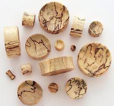 PAIR-Tamarind Wood CONCAVE EAR PLUG- ORGANIC FLESH TUNNELS-EAR GAUGES-EAR PLUGS