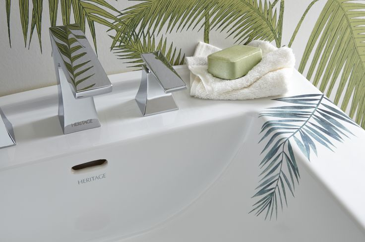 Heritage Bathrooms 30th Anniversary Ali Munro Limited Edition Palm Springs design Basin