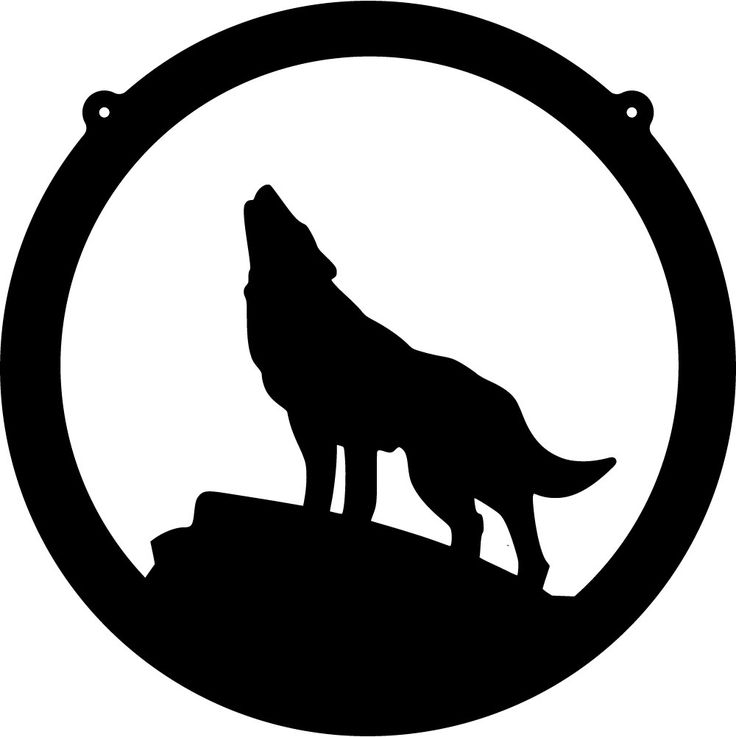 Coyote Silhouette Clip Art Free - ClipArt Best
