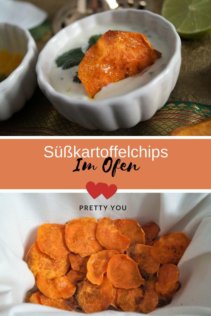 - Anzeige - #Süßkartoffeln sind so flexibel, da sie als #Süßkartoffelpommes, #Kartoffelbrei, #Süßkartoffelauflauf, aber auch als #Chips zubereitet werden können. #Süßkartoffelchips mit einem leichten #Joghurtdip können auch zur #Lowcarb #Ernährung gegessen werden. Ein leichter indischer #Minzdip und ein #Mangodip passen hervorragend zu den #Ofenchips.