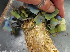 mt_ignore:hortensia krans maken met patentkrammen