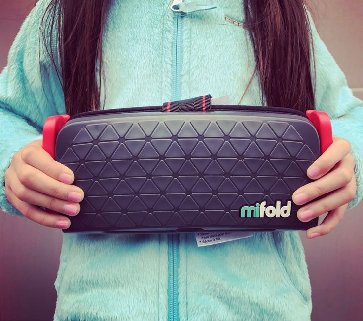 The most compact, portable and innovative booster seat on the market! The mifold grab-and-go booster is a MUST have for every family.