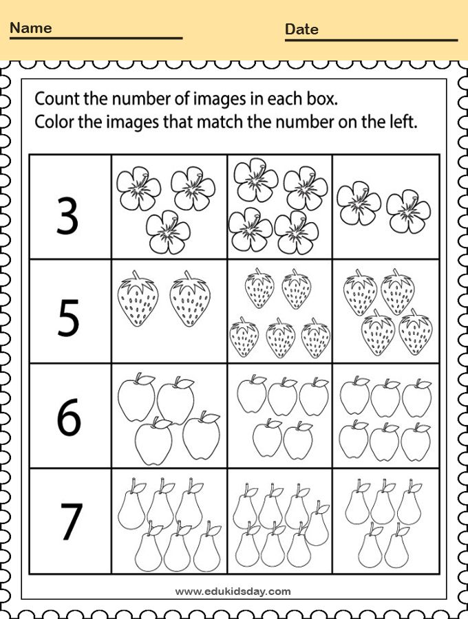 5 Best Kindergarten Worksheets Big Or Small And Coloring Edukidsd Kindergarten Math Worksheets Counting Kids Math Worksheets Kindergarten Addition Worksheets