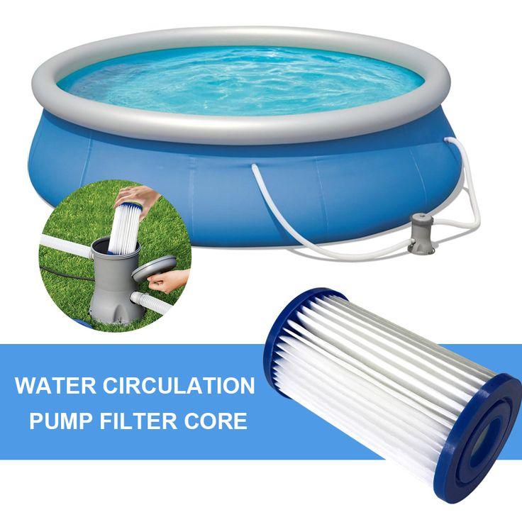 Pool Filter Cartridge Swimming Pool Pump Easy Set Up(Free